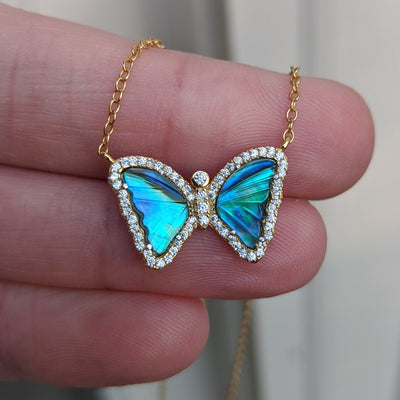 Mini Mother-of-Pearl Butterfly