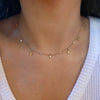 Diamond Charm Choker