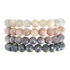Adia Gemstone Stacking Bracelets