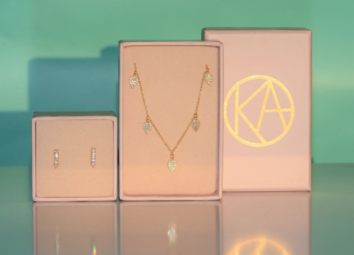 Gift Set | Huggie Earrings + Choker Necklace