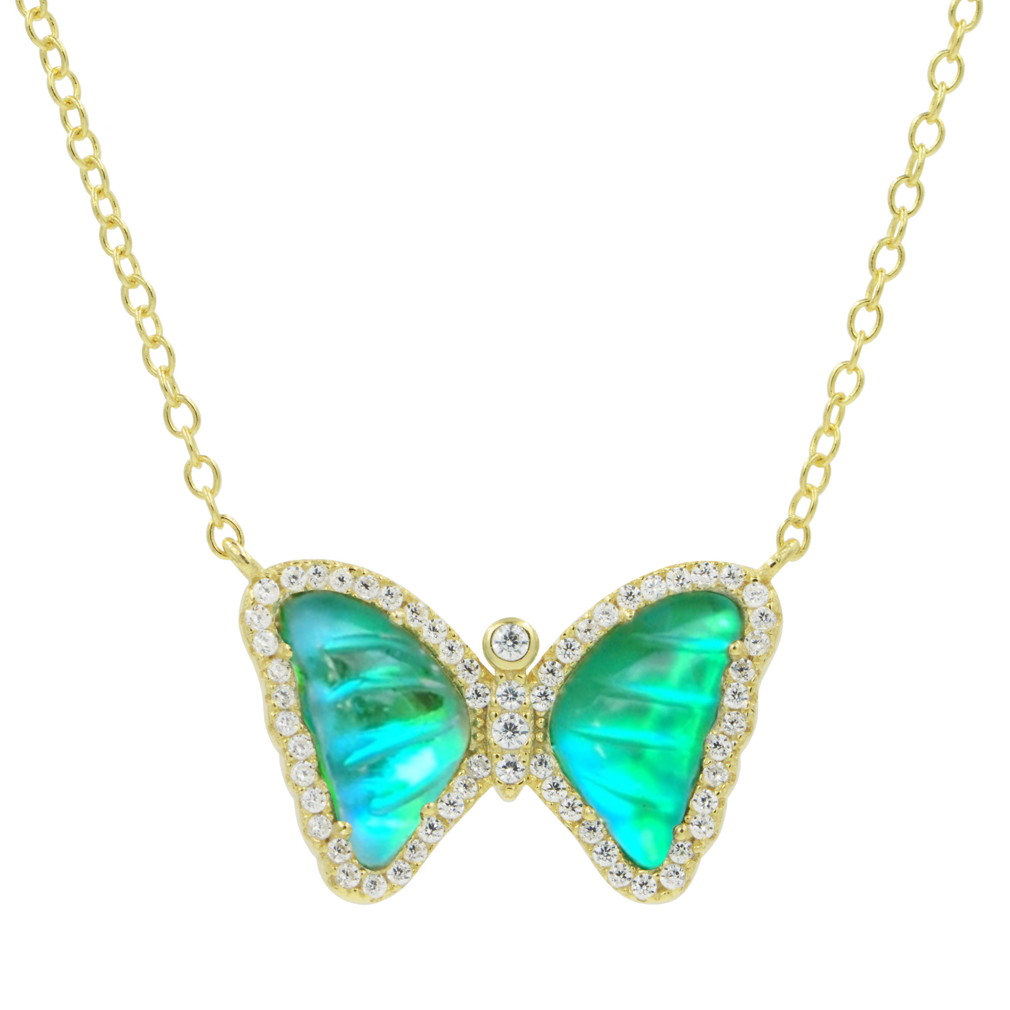 Limited Edition Morpho Butterfly Necklace
