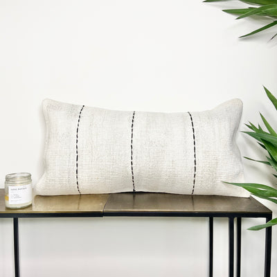 Turkish Hemp Lumbar Pillow Triple