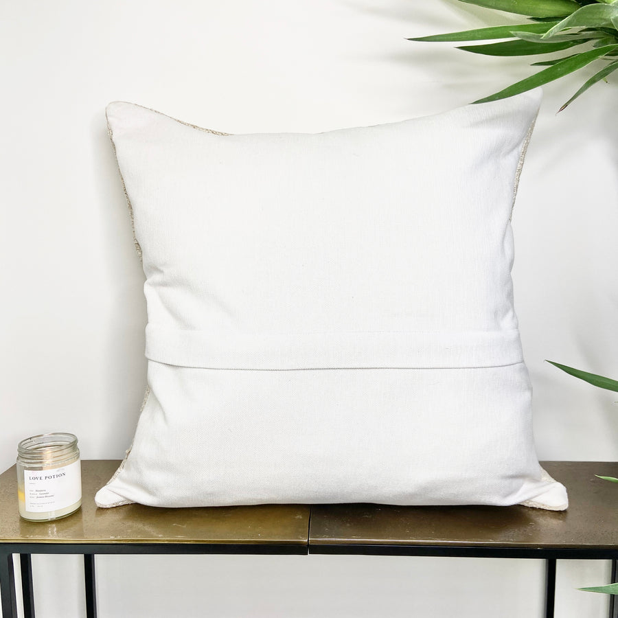 Turkish Hemp Throw Pillow Unity