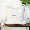 Turkish Hemp Throw Pillow Rise