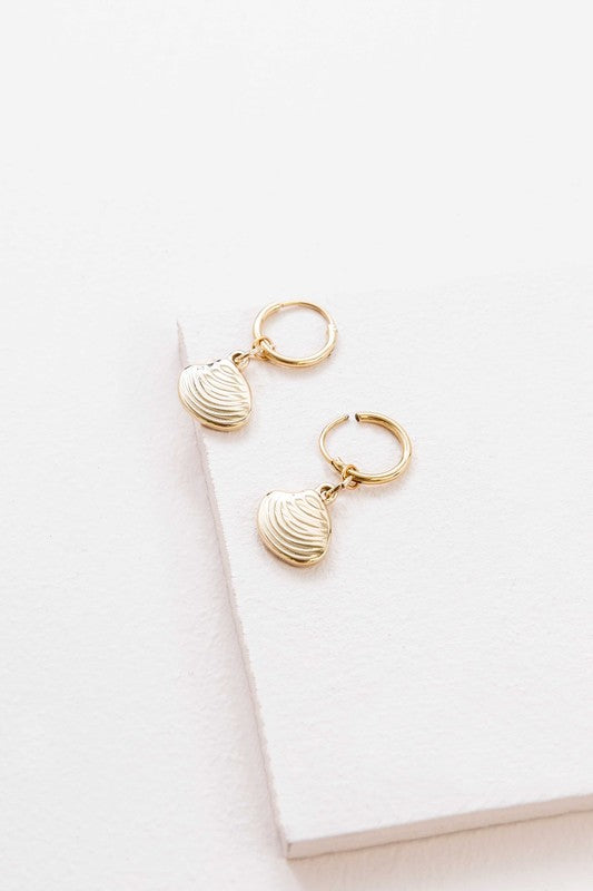 Mini Dangle Hoop Earrings