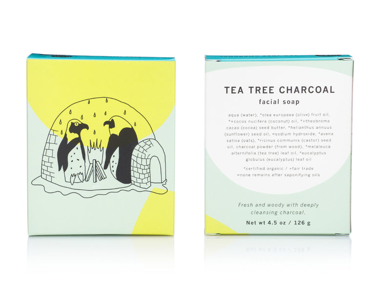 Facial Soap - Tea Tree Charcoal