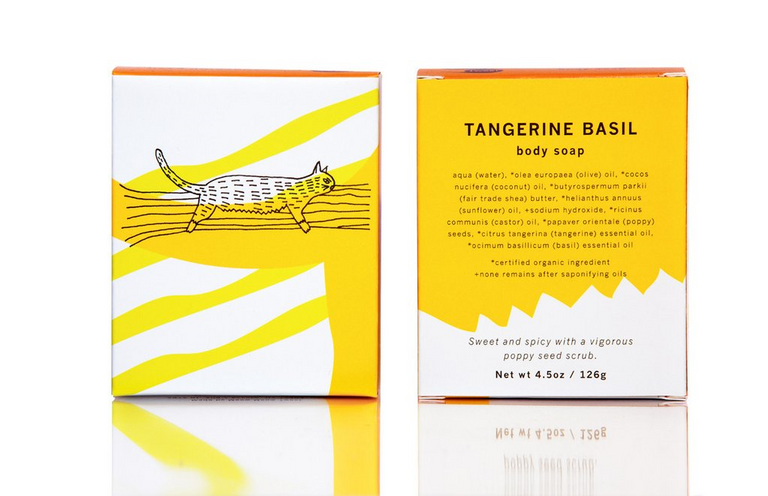 Body Soap - Tangerine Basil