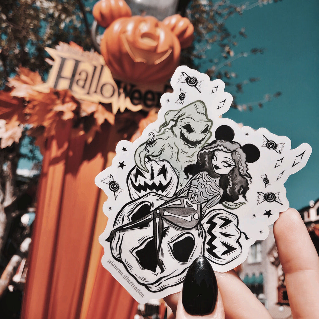 FRIGHTS & DELIGHTS // STICKER!