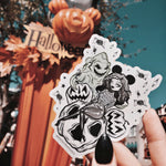 FRIGHTS & DELIGHTS STICKER