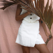 Coco Wrap Skirt - Natural