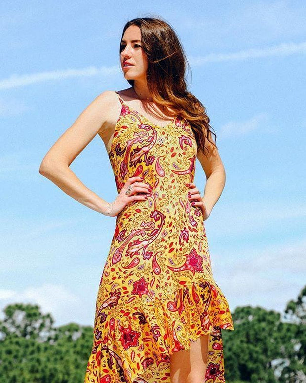 TAMGA Designs Dress S JASMINE Dress - Padang