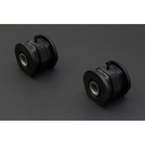 Hardened Rubber Front Compliance Bushings - 2 pcs/set
