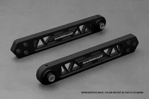 Hardened Rubber Rear Lower Control Arm - 2pcs/set BLACK