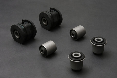 Hardened Rubber Front Lower Arm Complete Bushing Set - 6 pcs/set (non-Si/SiR models)