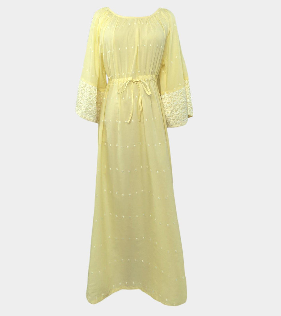 Roxanne (Yellow)  | Natural Cotton - Classé Couture