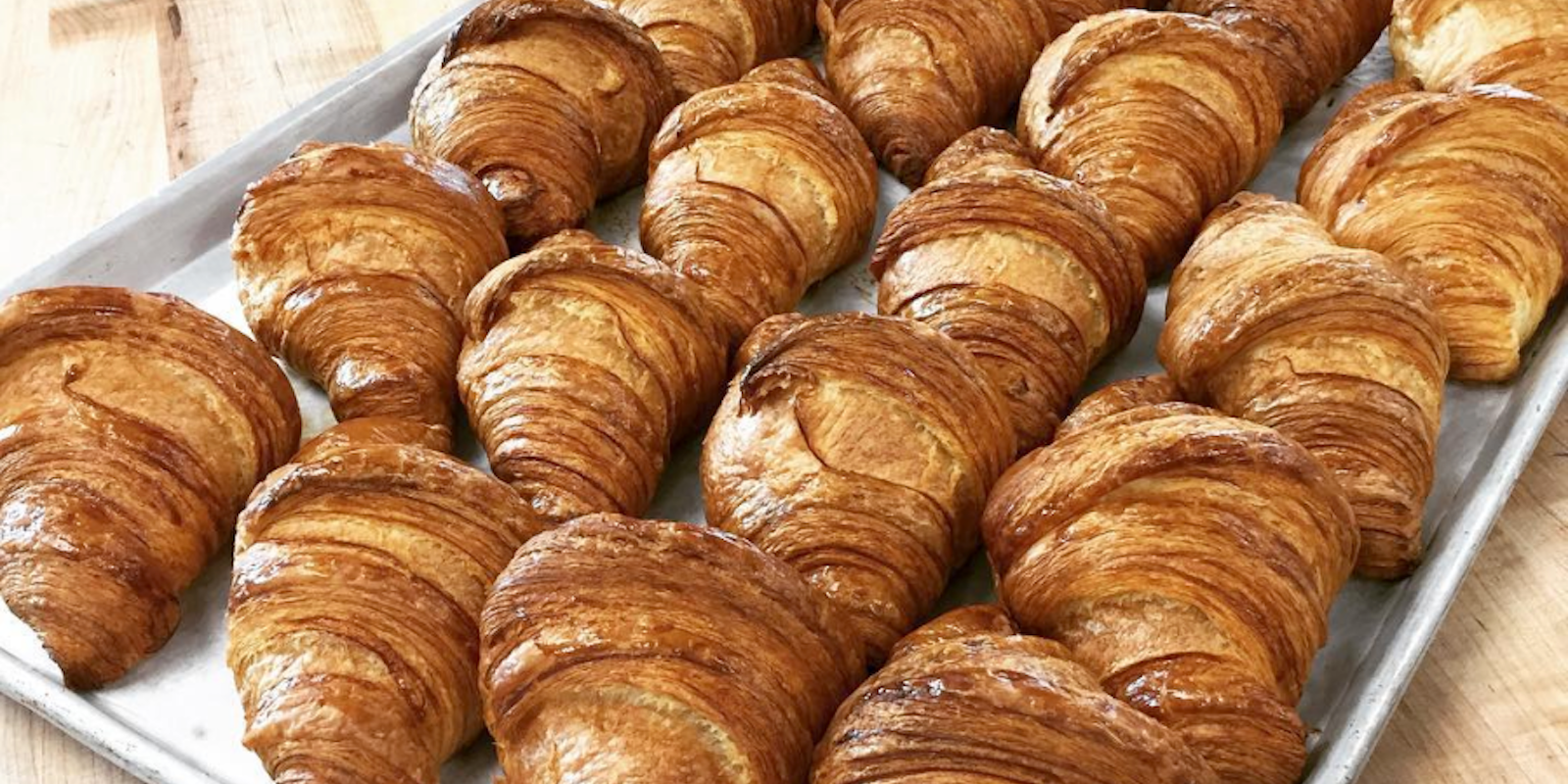 Croissants at JJ Bean Coffee