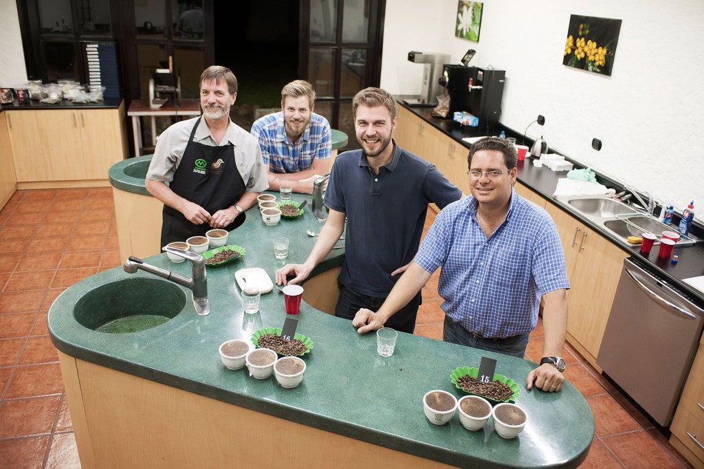 Cupping at Mercanta with Christian