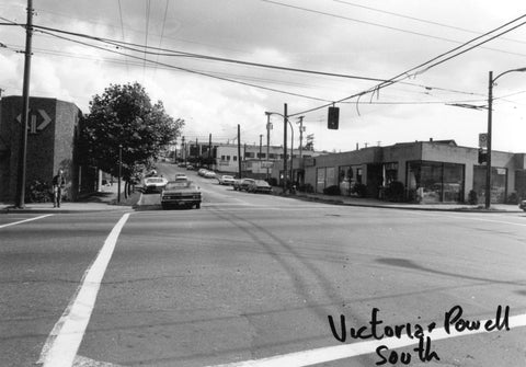 powell street and victoria drive