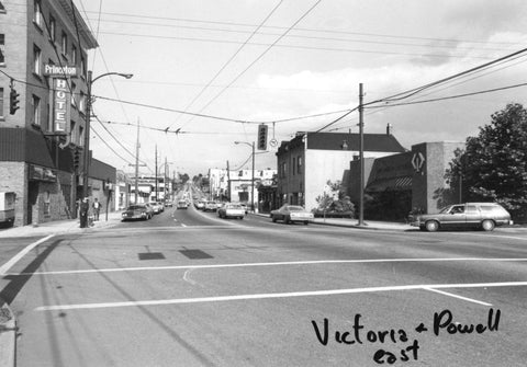 powell st and victoria drive