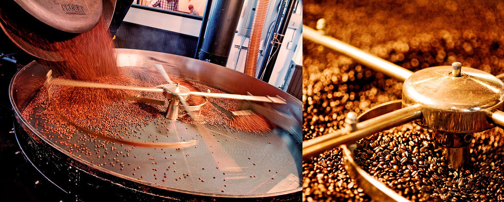 Coffee roasting at JJ Bean Powell