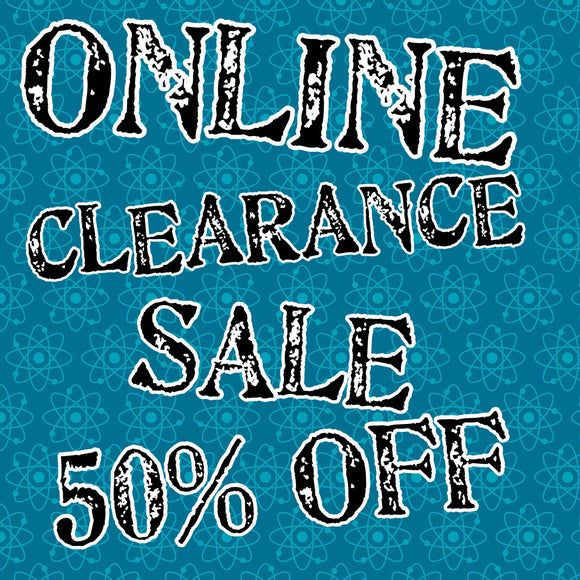 Discount Code: CLEARANCE for 50% off