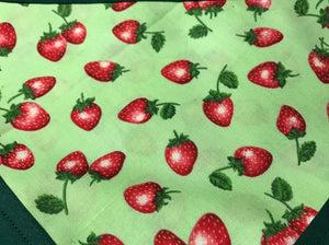 Strawberry Pet Bandanna