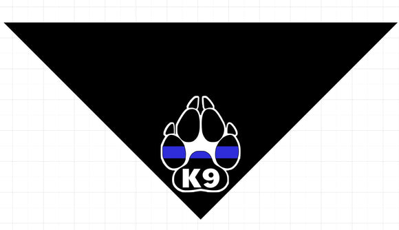Thin Blue Line K-9 Paw
