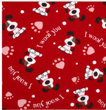 I Woof You Pet Bandanna