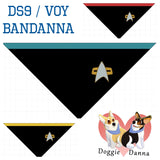 Star Trek: Deep Space 9 or Voyager Uniform Bandanna