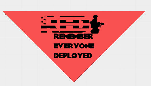 RED (Remember Everyone Deployed)