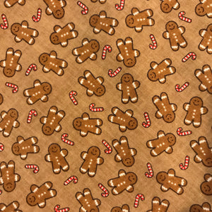 Gingerbread Pet Bandanna