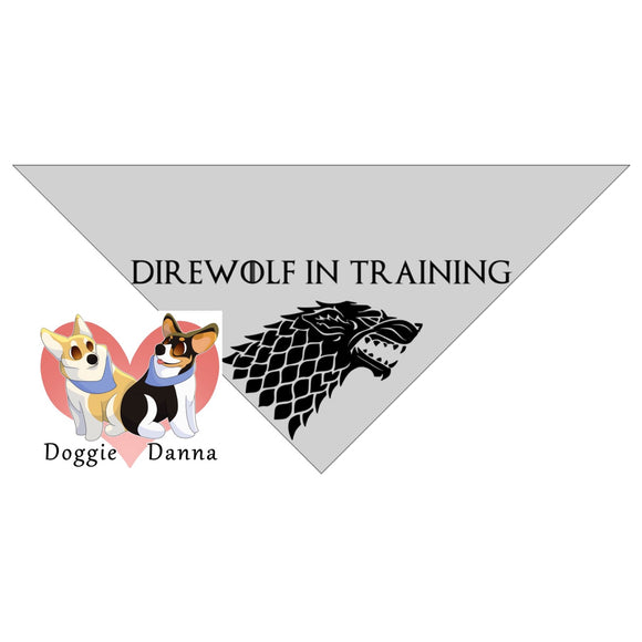 Direwolf In Training Bandanna
