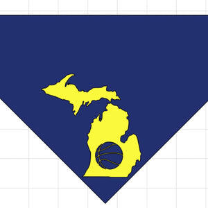 University of Michigan Bandanna
