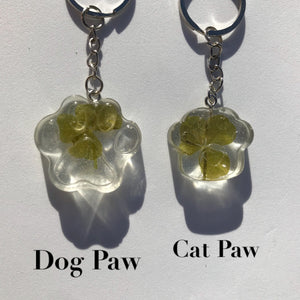 Lucky Dog or Lucky Cat Keychains