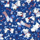 Patriotic Dogs Pet Bandanna