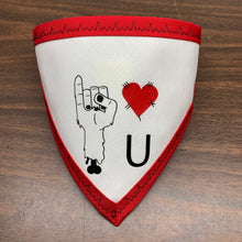 "Zombie ""I Love U"" Pet Bandanna"