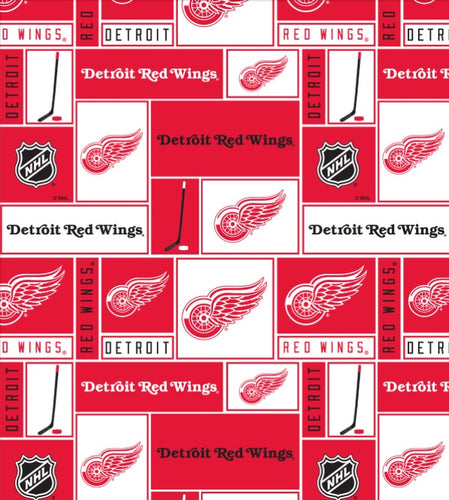 Detroit Red Wings Pet Bandanna