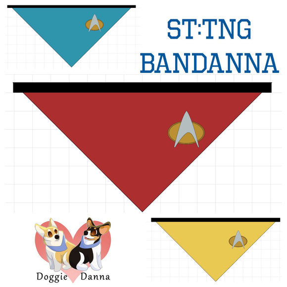 Star Trek: The Next Generation Uniform Bandanna