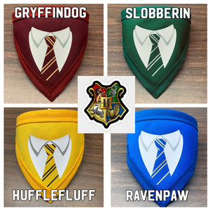Pawgwarts House Uniforms