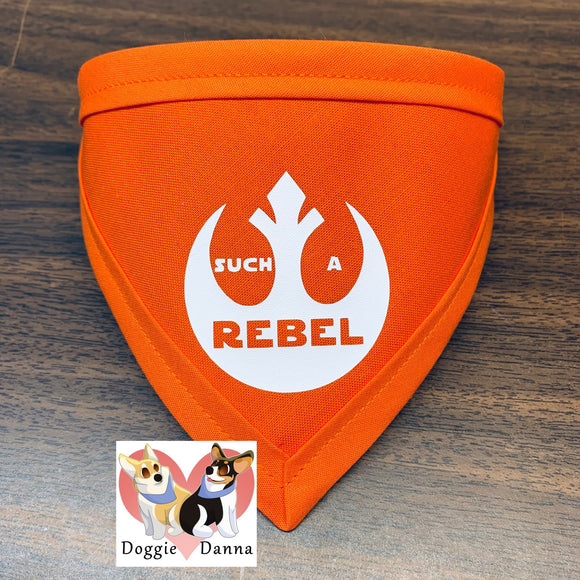 Such A Rebel Pet Bandanna