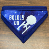 Boldly Go Pet Bandanna