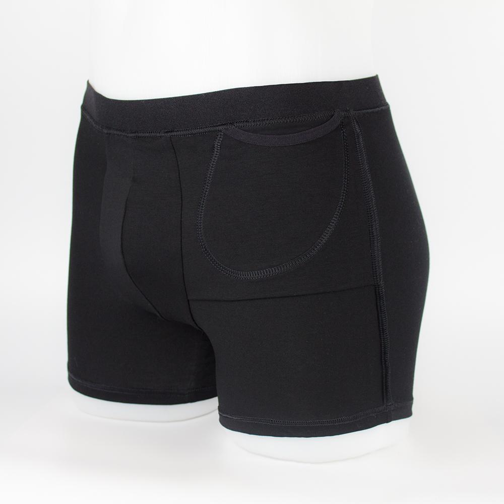 Boxer Brief Light with hidden insulin pump pocket inside