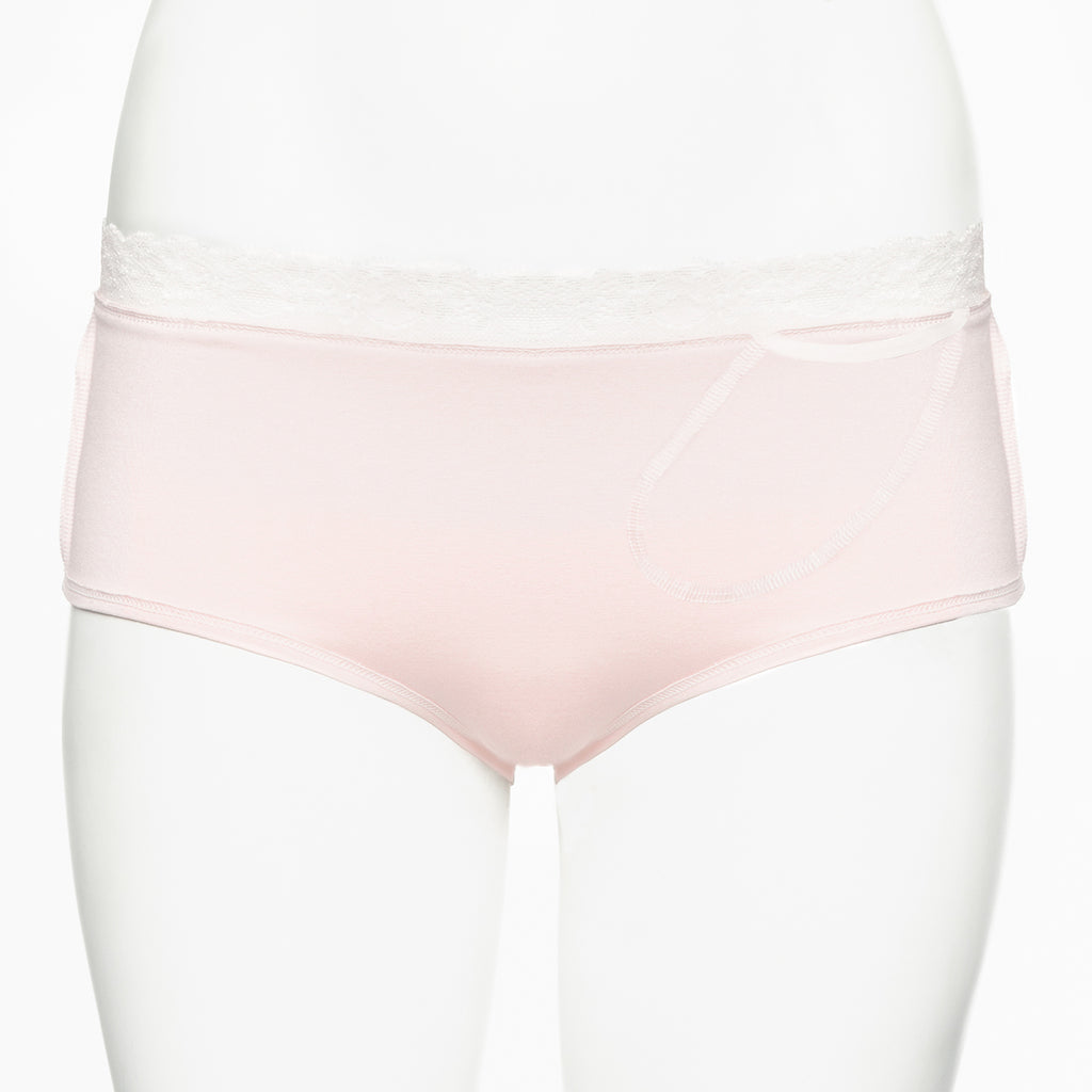 Ruby Limes insulin pump panty Rose Briolette with lace inside