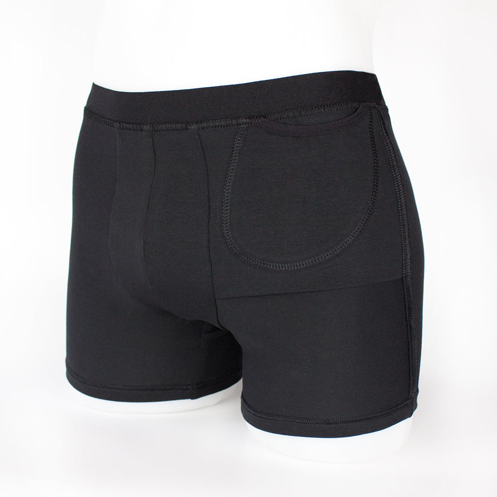 boxershorts with insulin pump pocket inside