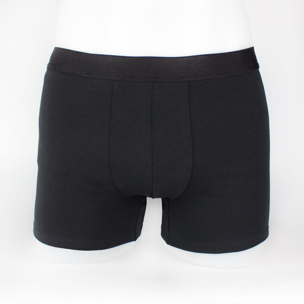 boxershorts with insulin pump pocket front view