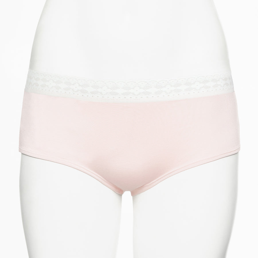 Ruby Limes insulin pump panty Rose Briolette with lace front view