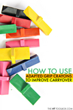 OT Toolbox How to use adapted crayons to carry over functional grasp