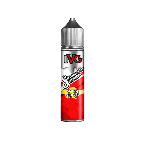 STRAWBERRY SENSATION E LIQUID BY I VG CLASSICS RANGE 50ML 70VG