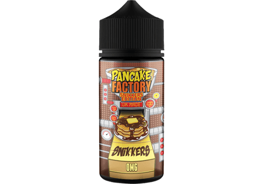 SNIKKERS E LIQUID BY PANCAKE FACTORY 100ML 70VG - Eliquids Outlet