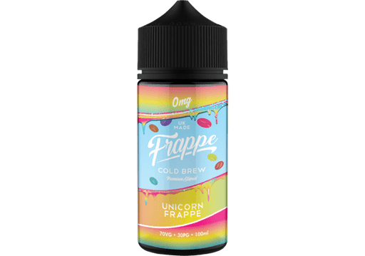 UNICORN E LIQUID BY FRAPPE 100ML 70VG - Eliquids Outlet